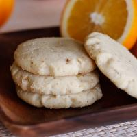 Orange Walnut Cookies