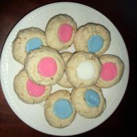 Thumbprint Cookies With Icing